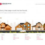 404 page on realestate.com