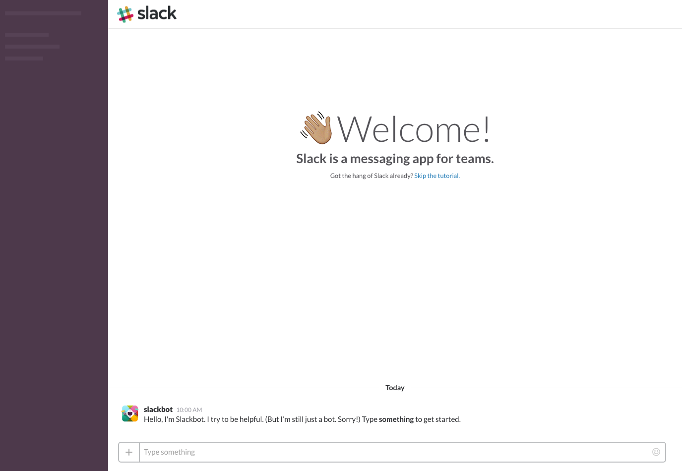 Slack Onboarding on Web Onboarding Web  - UI Garage - The database of UI