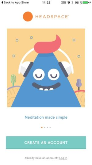 [Gallery] Headspace Onboarding on iOS from UIGarage
