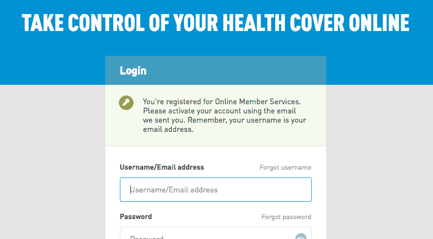 Login alert on @Medibank