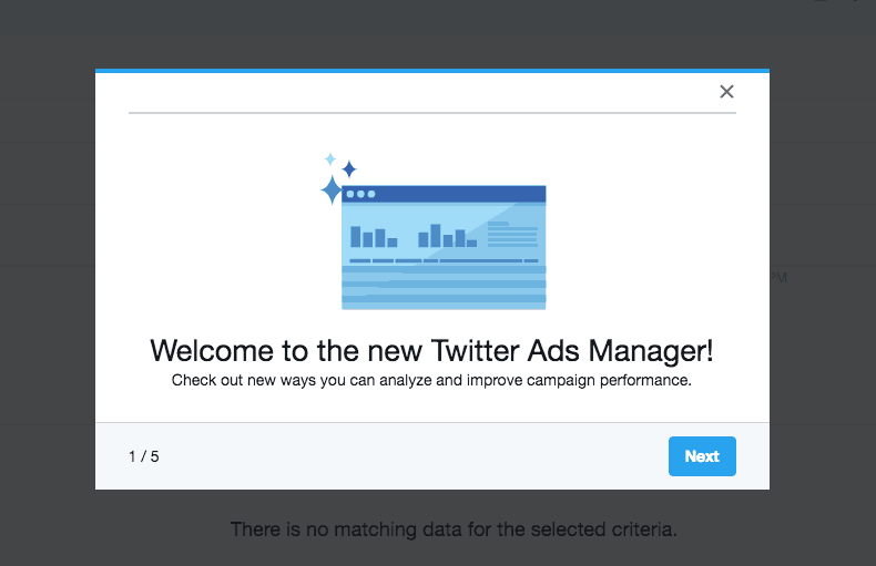 Twitter Ads Walkthrough All Walkthrough Web  - UI Garage - The database of UI