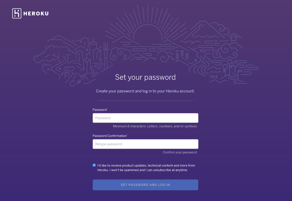 @heroku Sign up Process from UIGarage