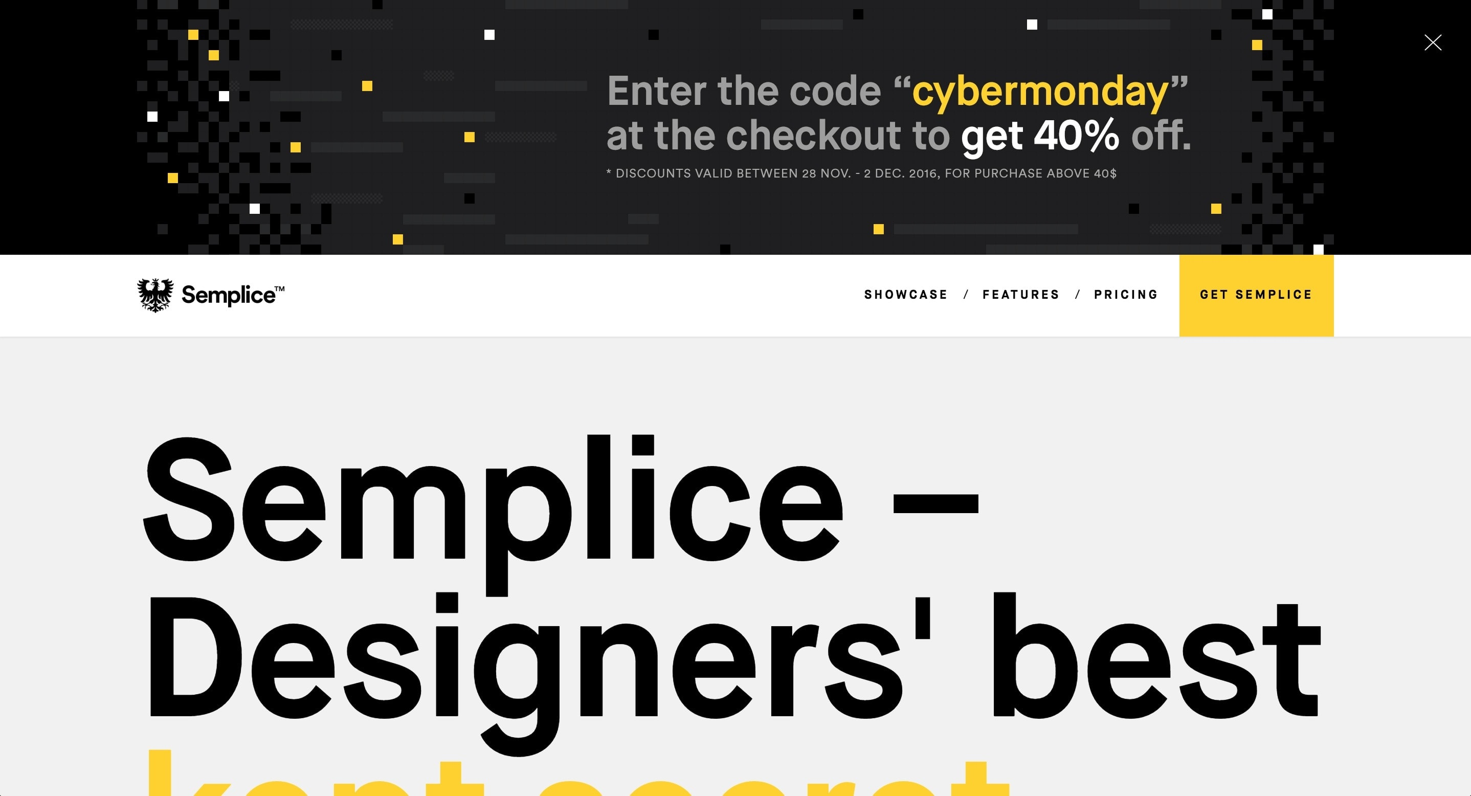 Advertising on Semplice