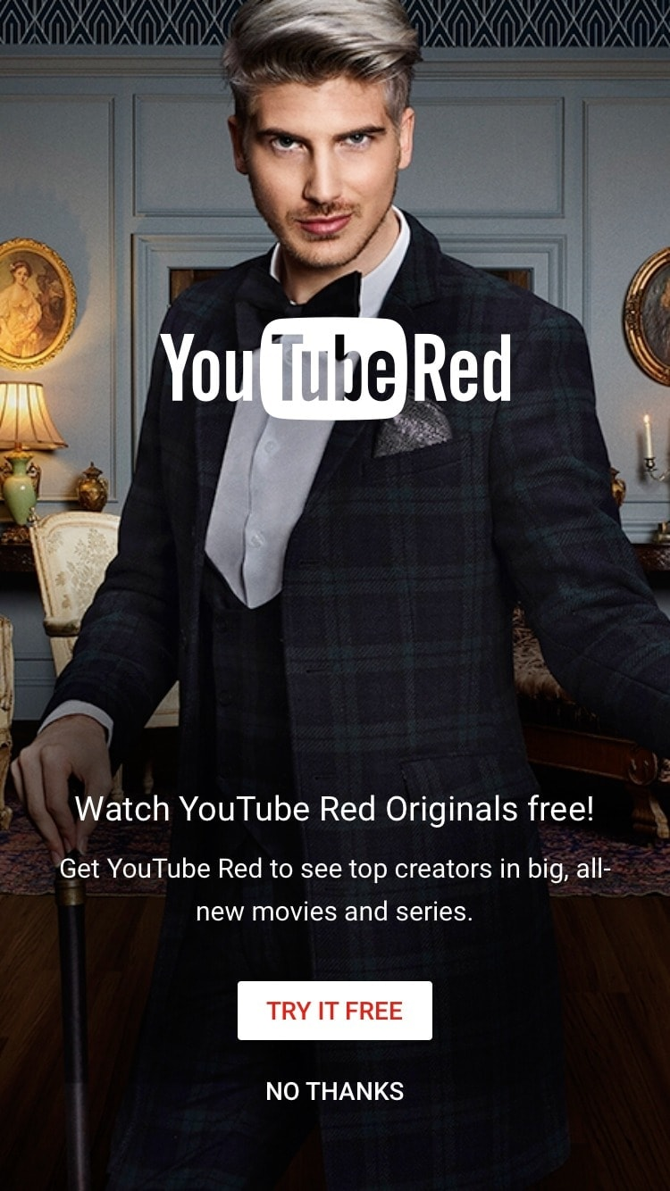 Advertising on Youtube iOS