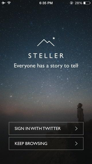 Steller Signup