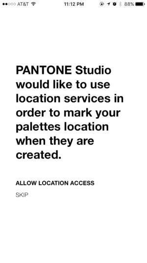 Pantone Studio App Walkthrough from UIGarage
