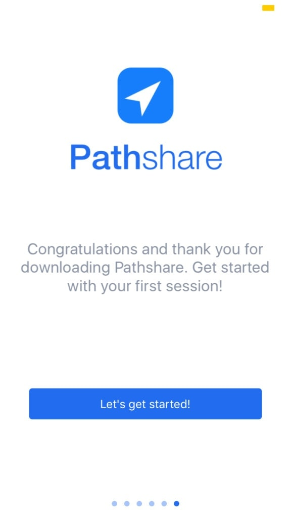 Pathshare Onboarding Onboarding Homepage Map Mobile Navigation Signup Success Time Picker Walkthrough  - UI Garage - The database of UI