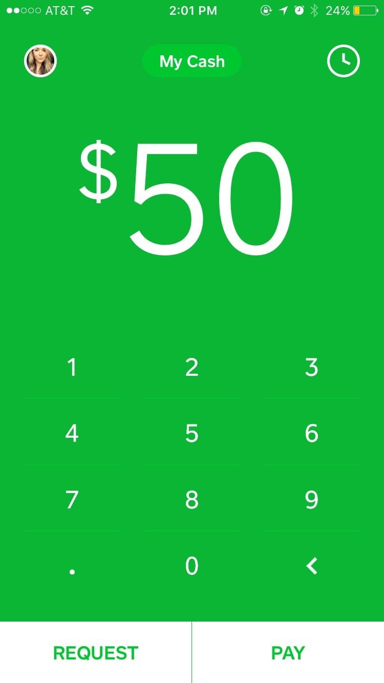 Square Cash User Profile