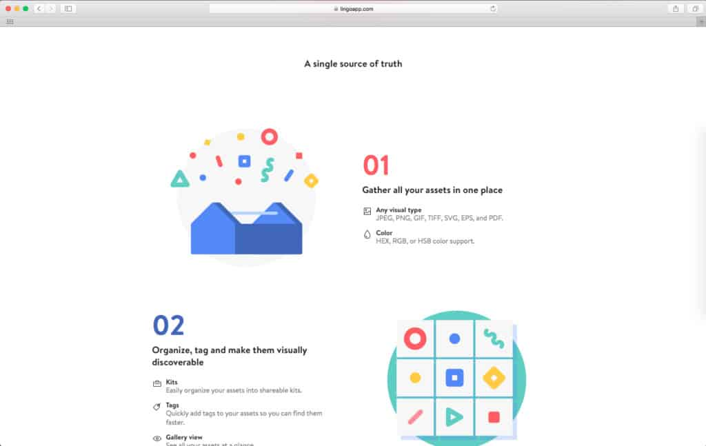 Lingo App Homepage Homepage iOS Landing Launch Screen Mac  - UI Garage - The database of UI
