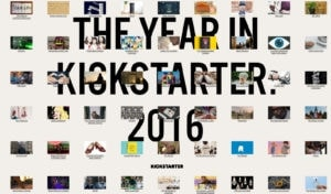 Kickstarter 2016 Year in Review from UIGarage