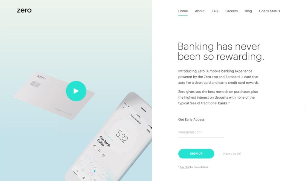 Zero Financial Walkthrough Activity Dropdown Homepage iOS List Mac Map Menu Message Mobile Navigation Pricing Walkthrough Web  - UI Garage - The database of UI