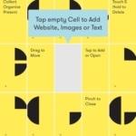 Curator App Layout Inspiration