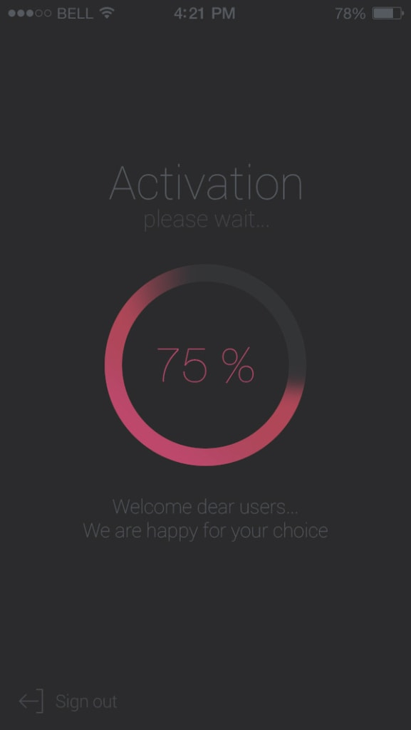 Loading Bar Inspiration iOS Loading Mobile  - UI Garage - The database of UI