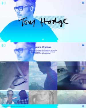 Leland Originals Website by Everyone Associates from UIGarage