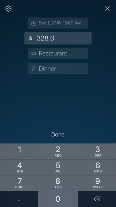 5Coins Spending Tracker Forms iOS List Mobile Pricing  - UI Garage - The database of UI
