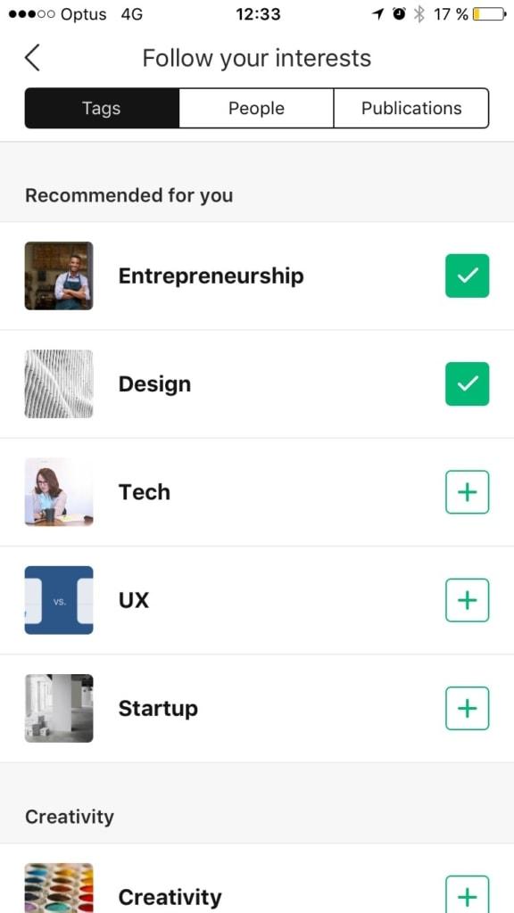 Checkbox Inspiration Categories Checkbox List Mobile  - UI Garage - The database of UI