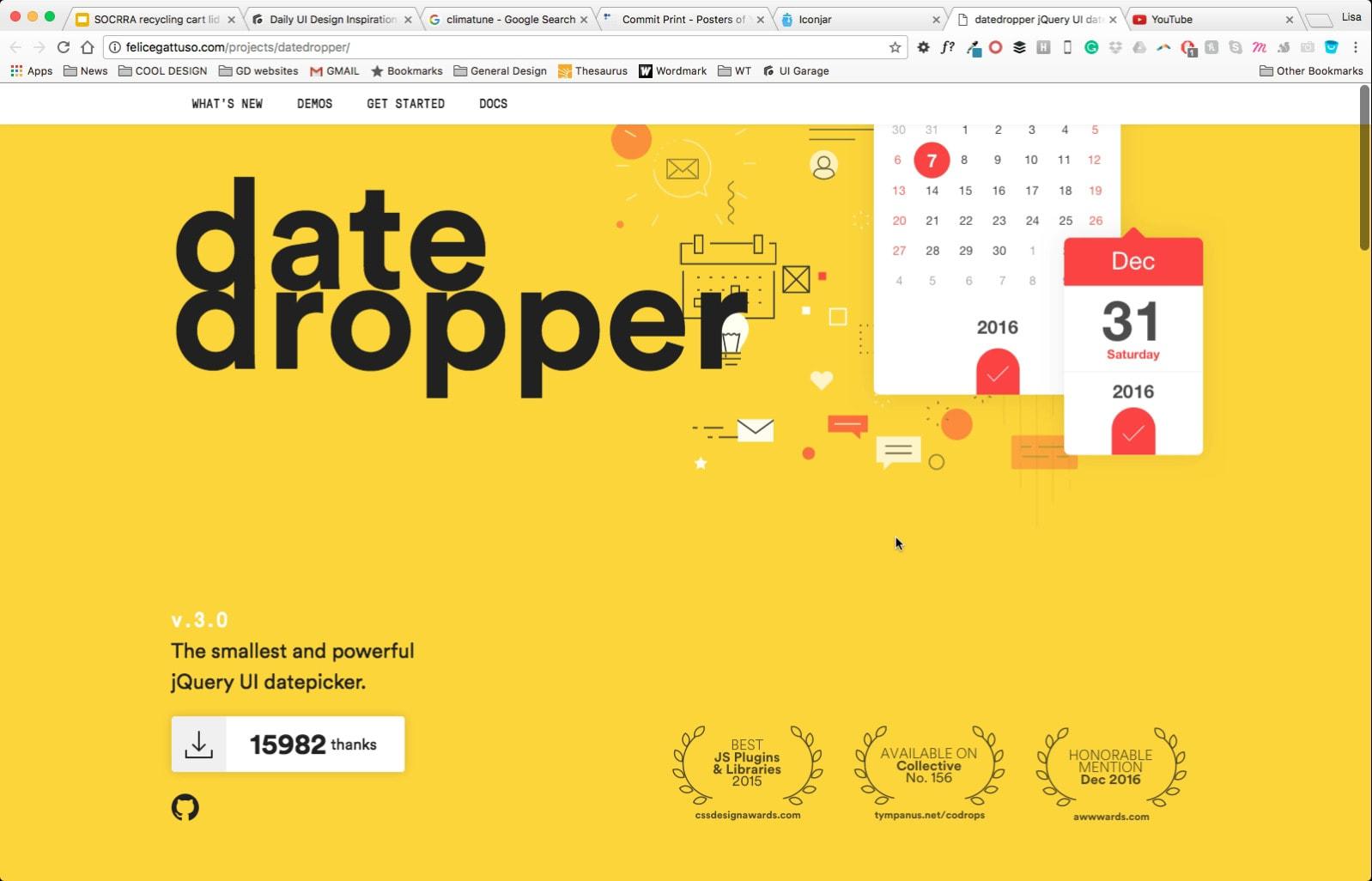Icon Jar Landing Page