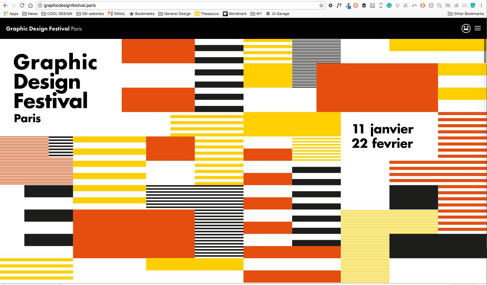 Graphic Design Festival Paris