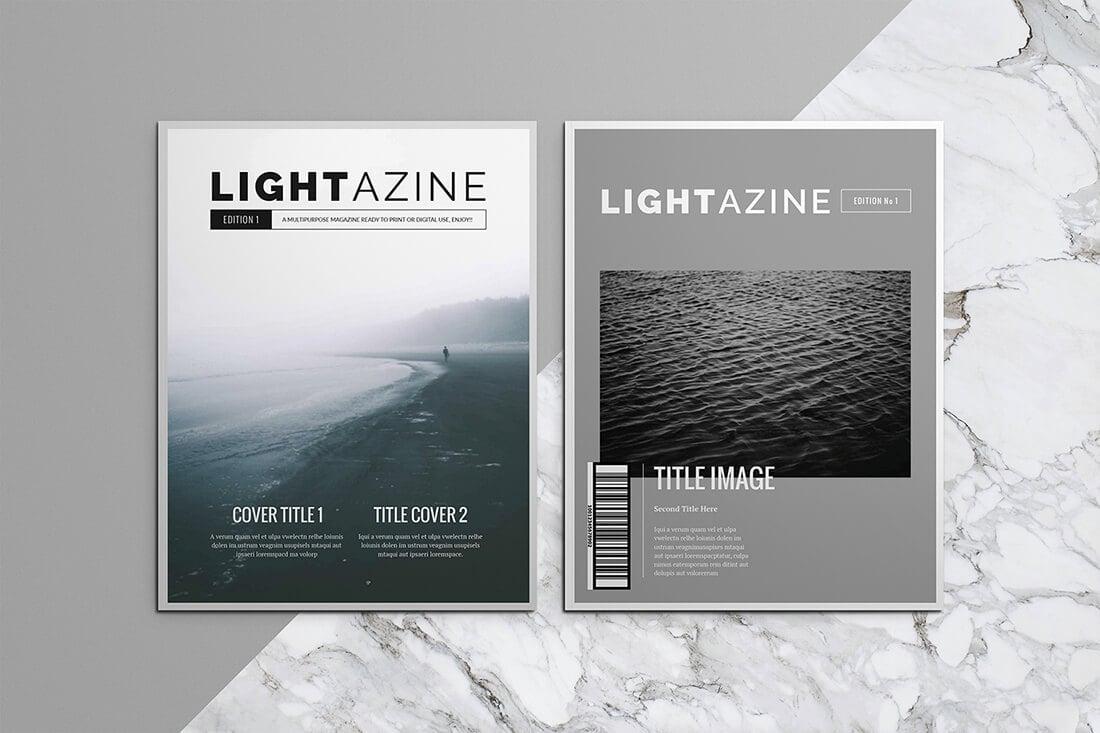 15 InDesign Magazine & Brochure Templates - Daily UI Design ...