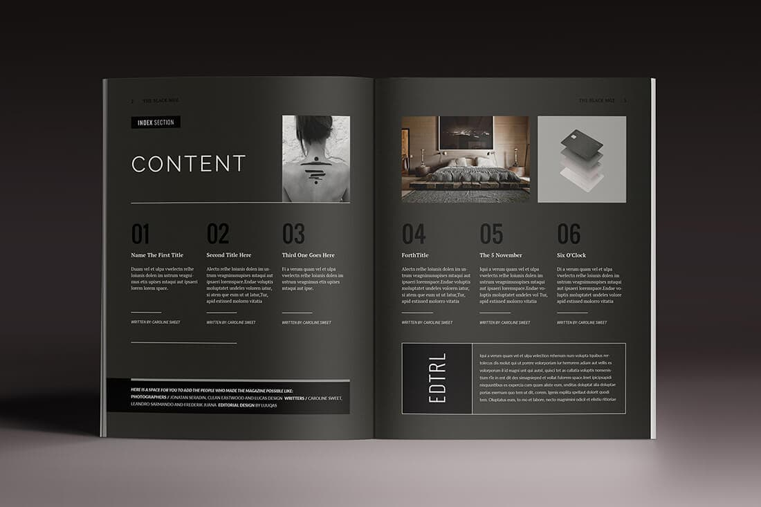 15 indesign magazine  u0026 brochure templates