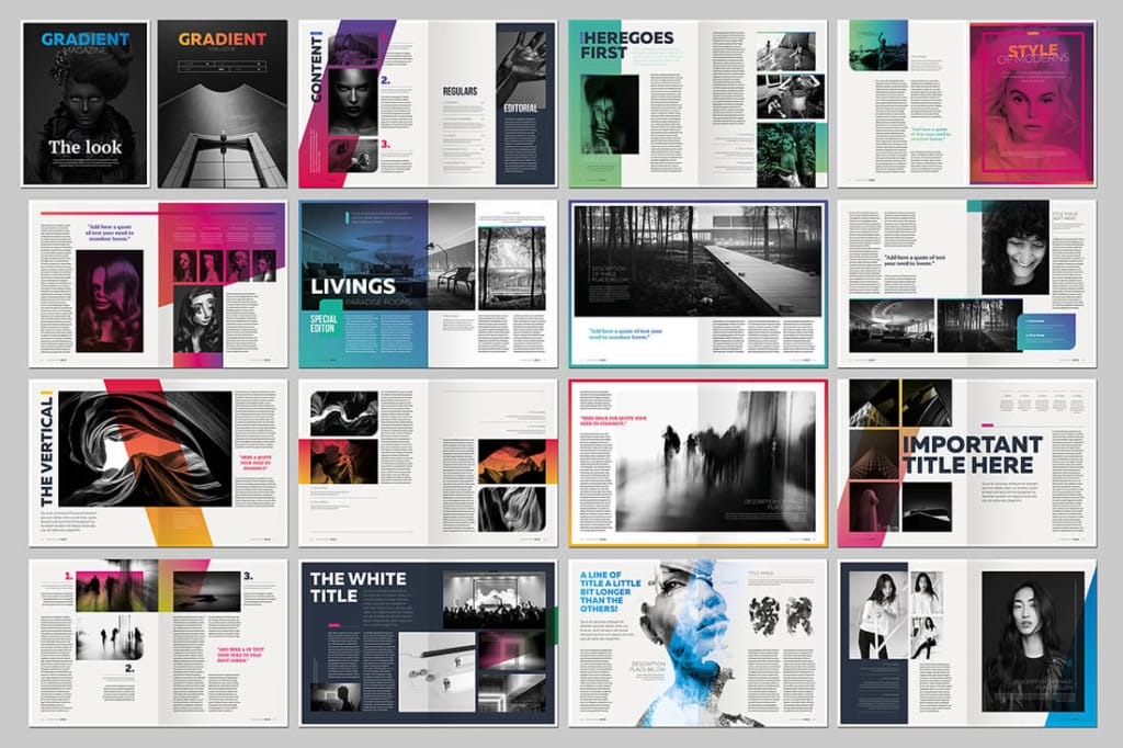 15 InDesign Magazine & Brochure Templates  - UI Garage - The database of UI