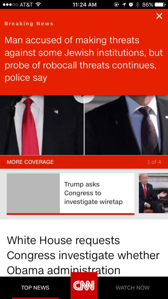 @CNN Alerts from UIGarage