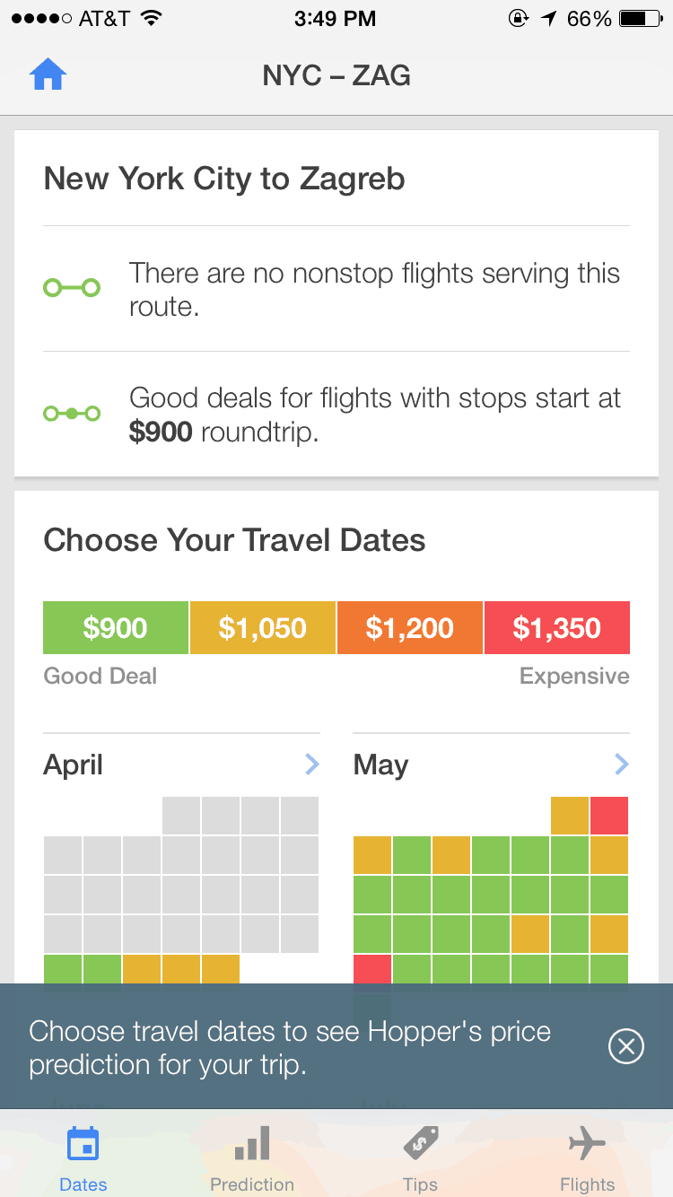 Hopper Travel Inspiration