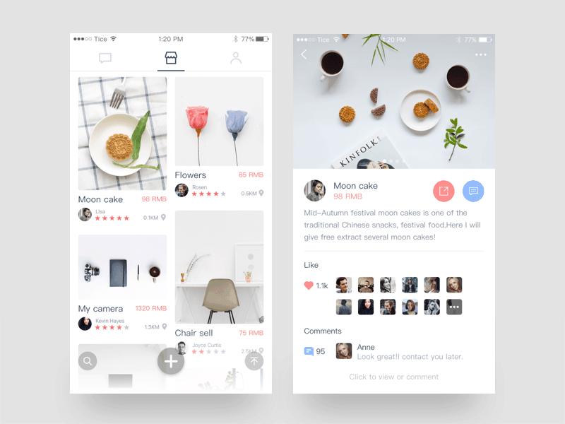 Tice Newsfeed - Daily UI Design Inspiration & Patterns - UI Garage
