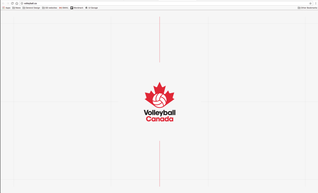 Volleyball Canada Site All Grid Landing Mac Profile Web  - UI Garage - The database of UI