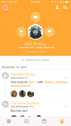 Swarm User Profile from UIGarage