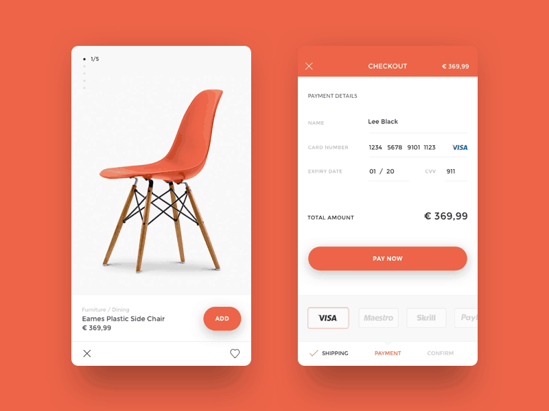 Mobile Checkout All Cart Checkout Mobile Pricing Product View  - UI Garage - The database of UI