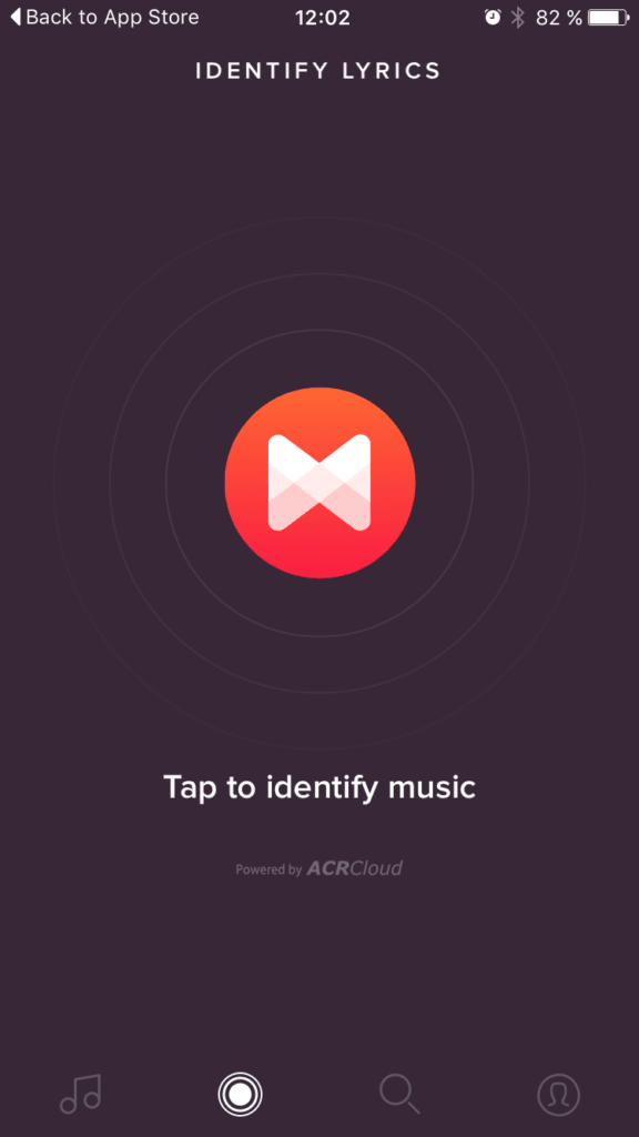 Record Inspiration All Mobile Music Player Voice  - UI Garage - The database of UI