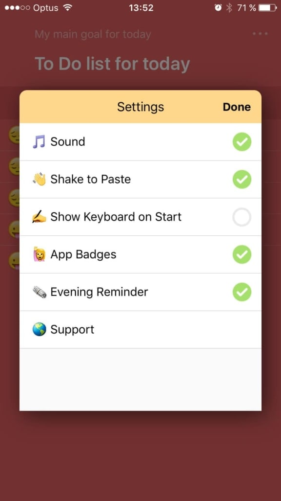 Checkbox Settings To Do App Checkbox iOS Settings  - UI Garage - The database of UI