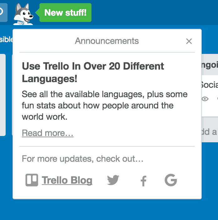 What's New by @Trello All What's new  - UI Garage - The database of UI