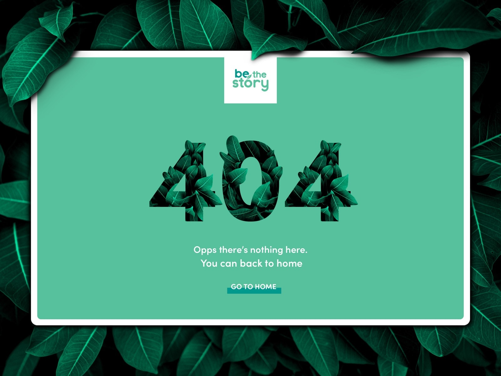404 Page by Pedro Monteiro 404 All Web  - UI Garage - The database of UI