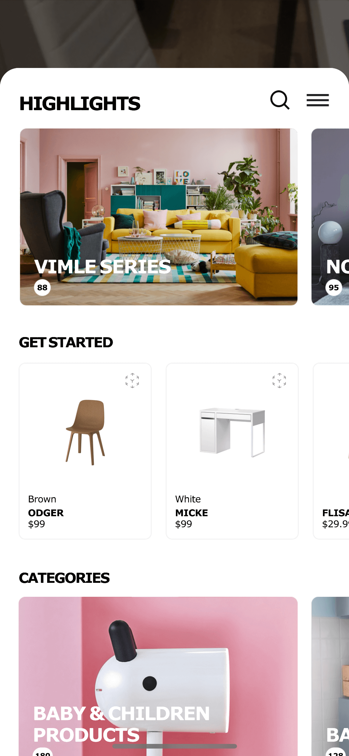 Homepage by Ikea Place