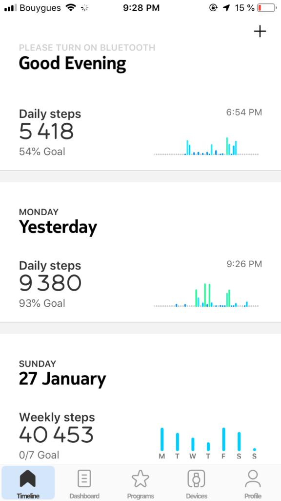 Dashboard by Health Mate All Dashboard iOS  - UI Garage - The database of UI