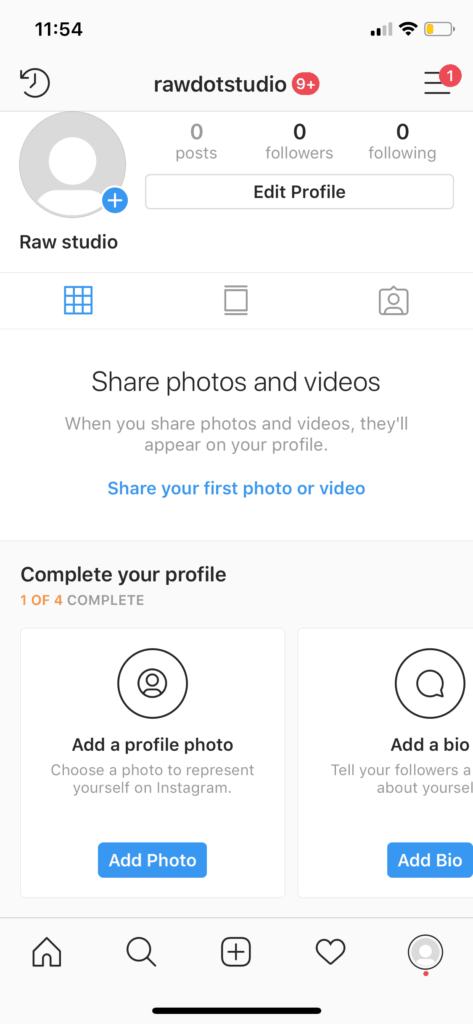 Onboarding by Instagram iOS from UIGarage