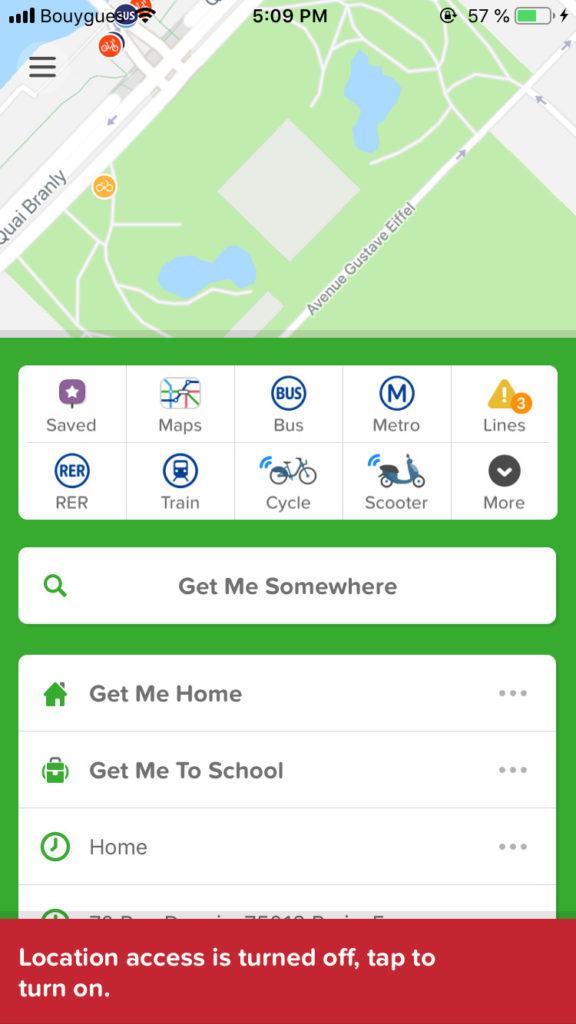 Error Message by Citymapper Error Messages iOS Navigation  - UI Garage - The database of UI