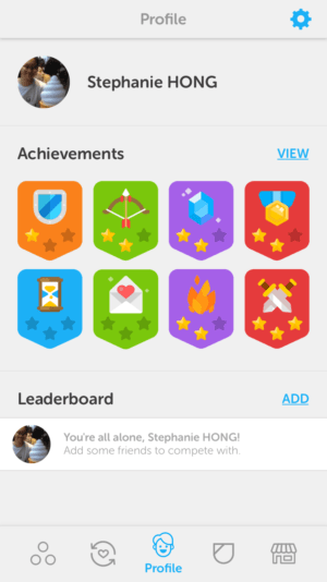 Leaderboard by Duoligo from UIGarage