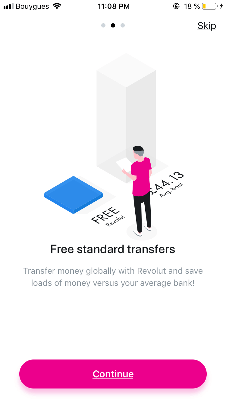 Walkthrough by Revolut from UIGarage