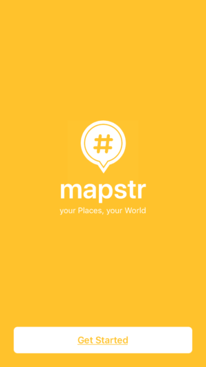 Mapstr Onboarding from UIGarage