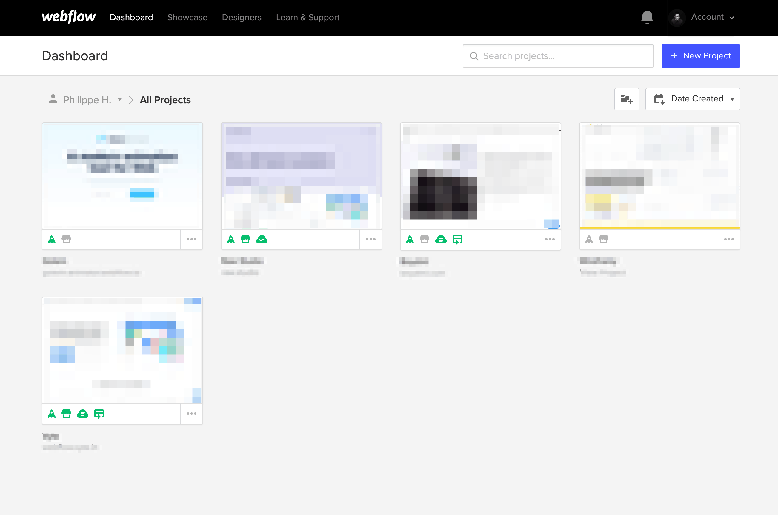 Dashboard by Webflow from UIGarage