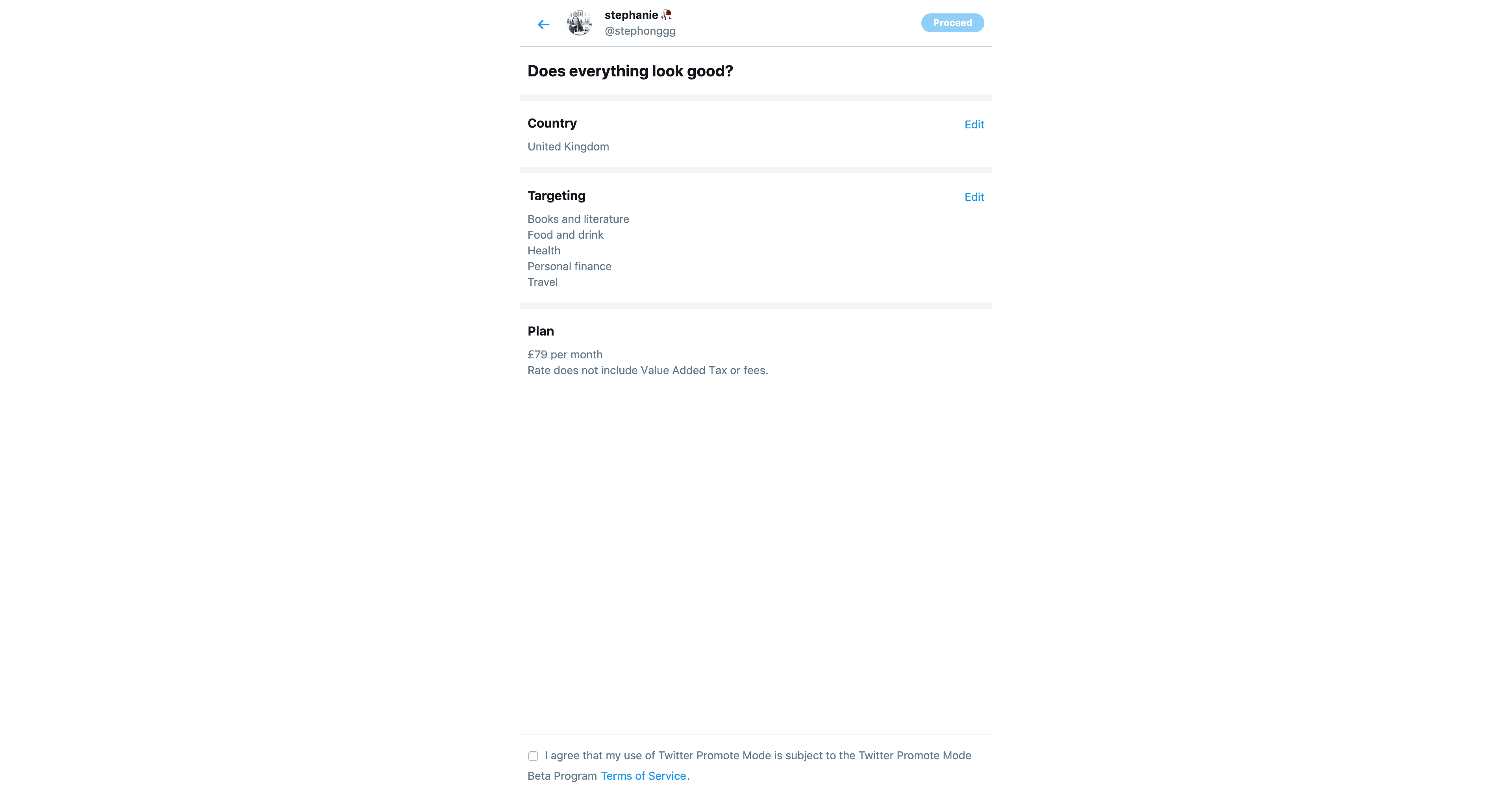 Promote Mode by Twitter