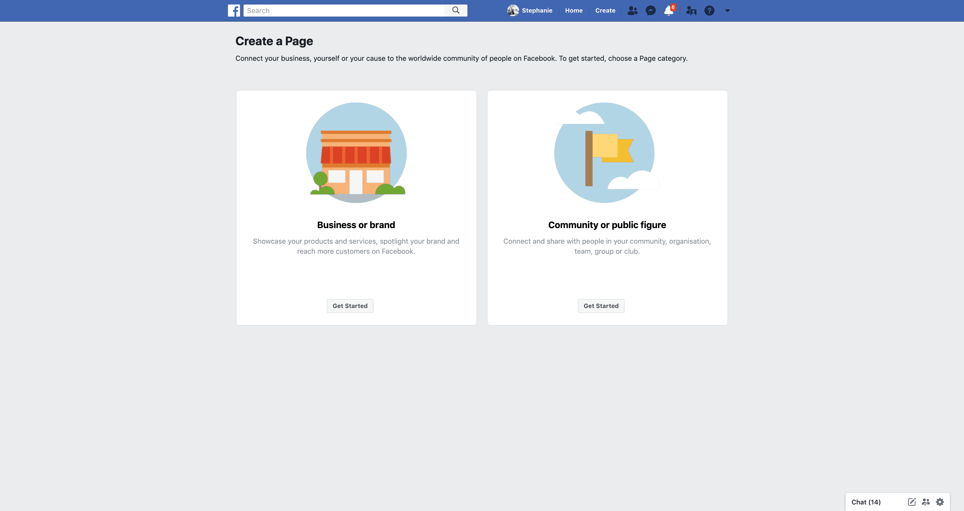 Create a Page by Facebook from UIGarage