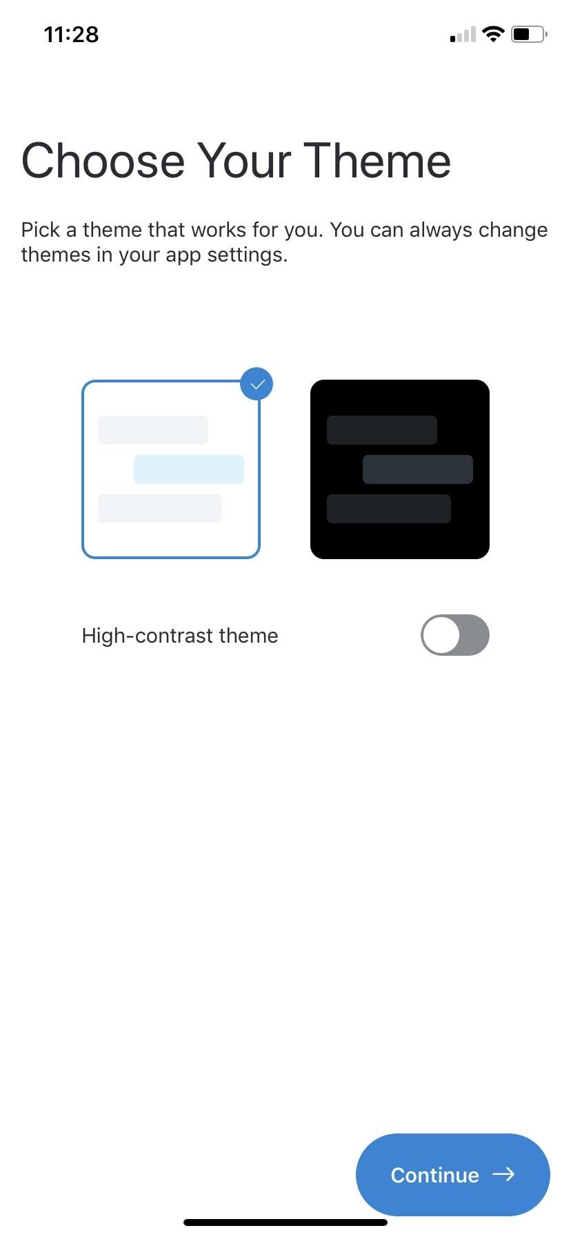 Onboarding Process by Skype in iOS