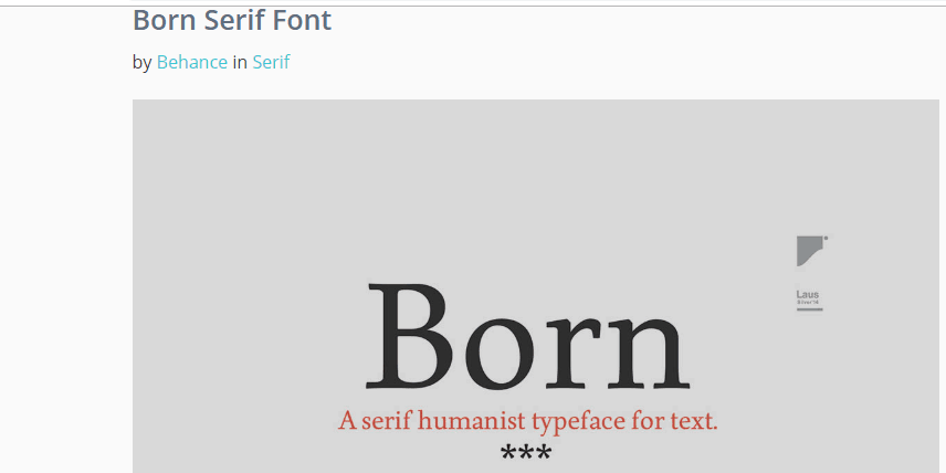 Top 10 Free Serif Fonts for Designers of 2019 from UIGarage
