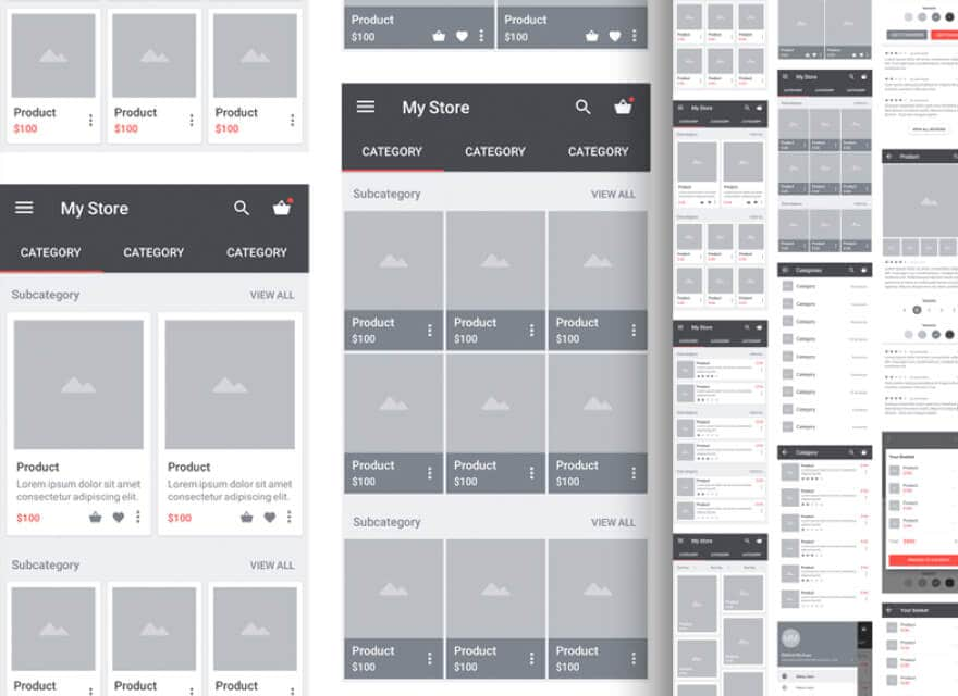 17 Best Free Wireframe Kits for Sketch/Figma/XD in 2019 - UI Garage