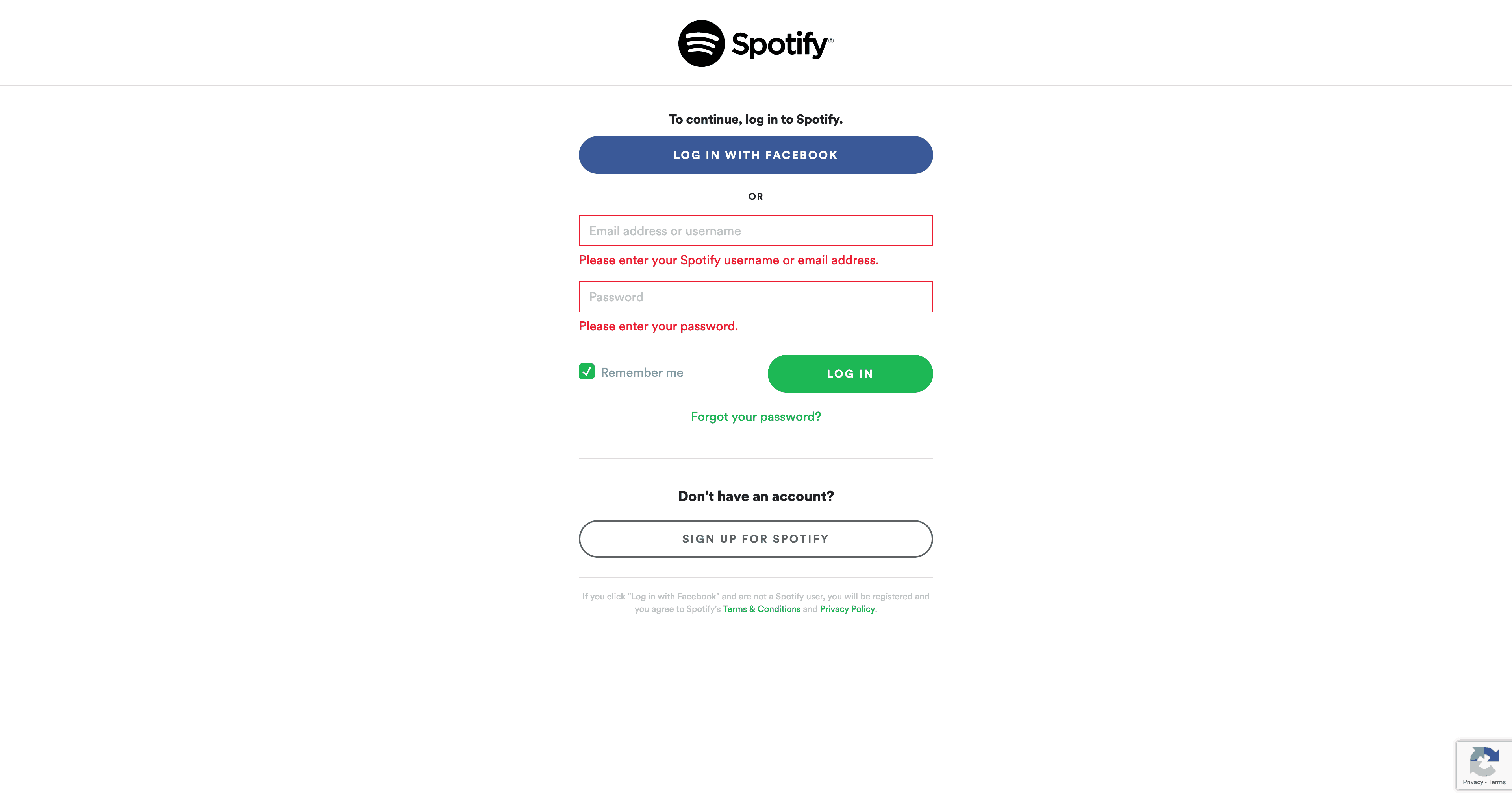 Login by Spotify