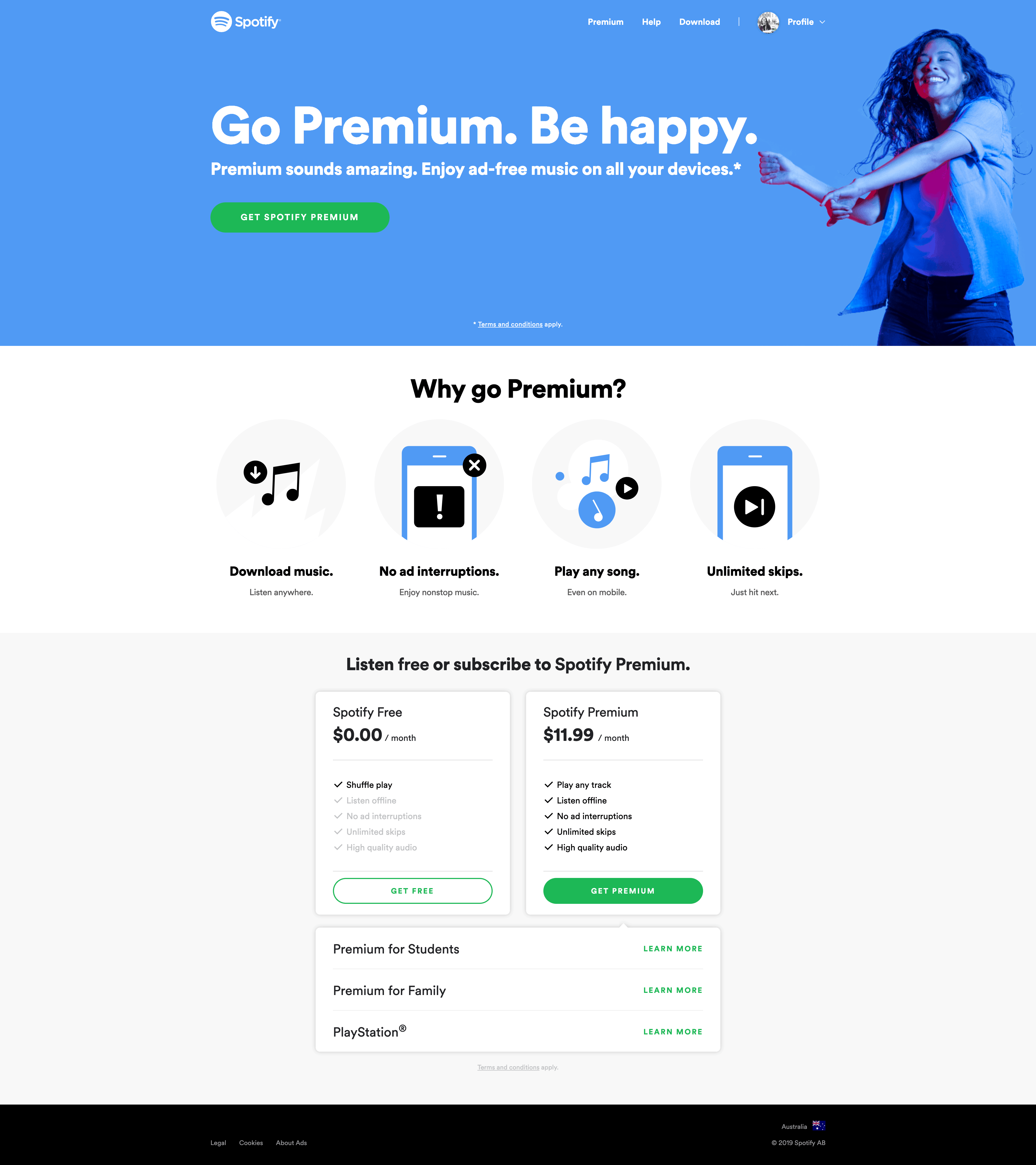 Subscribe to Spotify Premium by Spotify